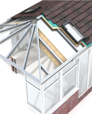 Guardian Warm Roof John O 39 Leary Home Improvement Services