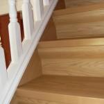 stair renovation oak
