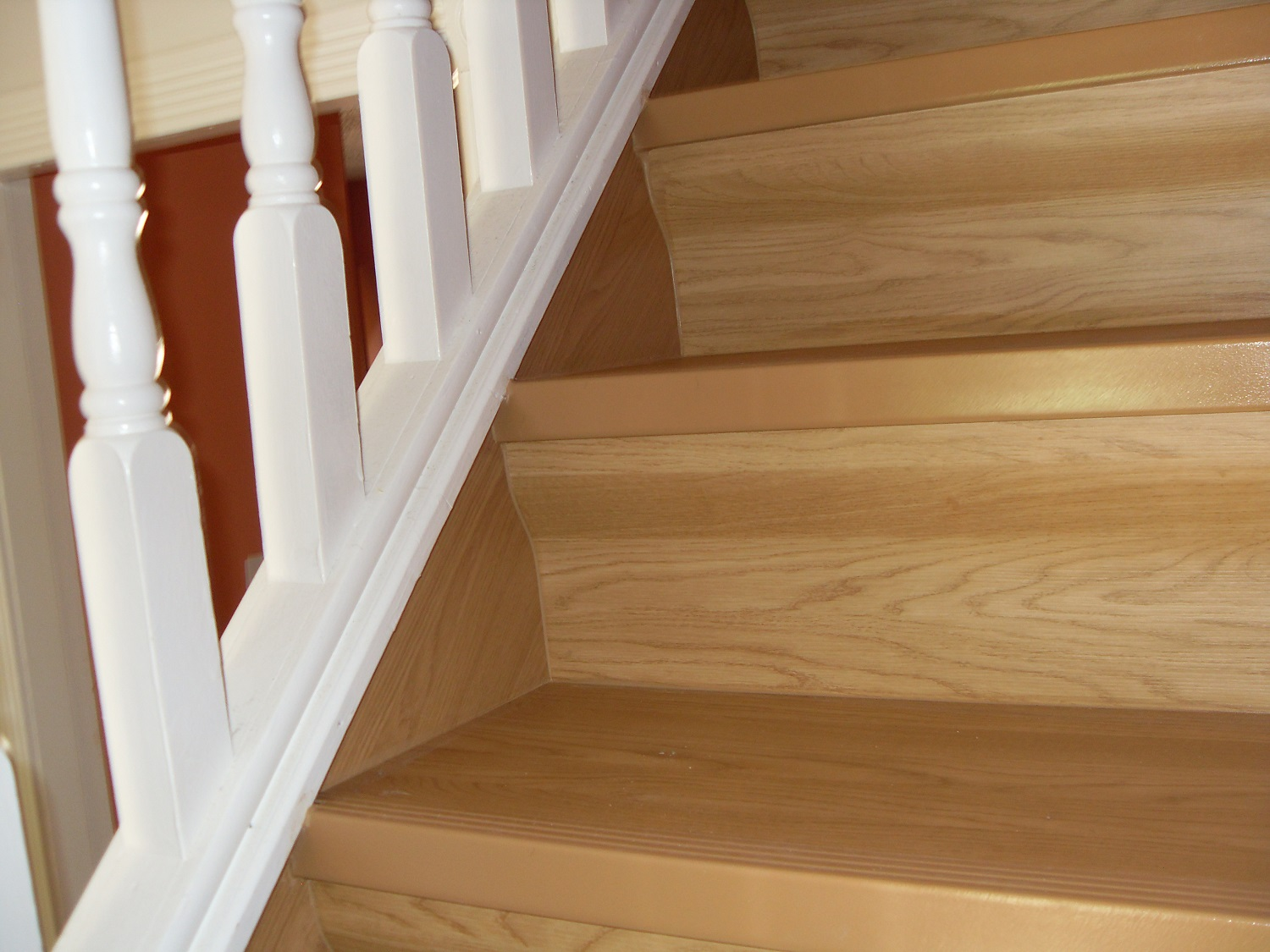 Staircase Renovation Wenge With Accessories Stair Renovation Oak ...