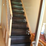 staircase renovation wenge with accessories