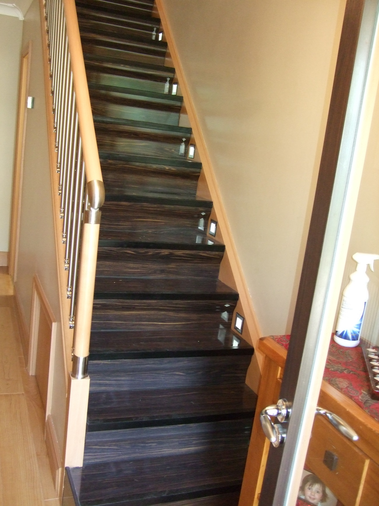 Staircase Renovation Wenge With Accessories ...