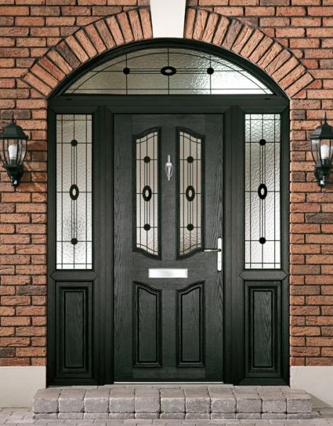 Composite entrance door