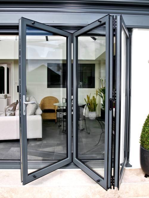 bifold- entrance doors